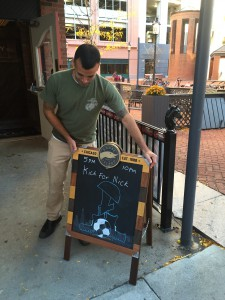 VFW NEW HAVEN ORGANIZES SUCCESSFUL KICK FOR NICK FUNDRAISER