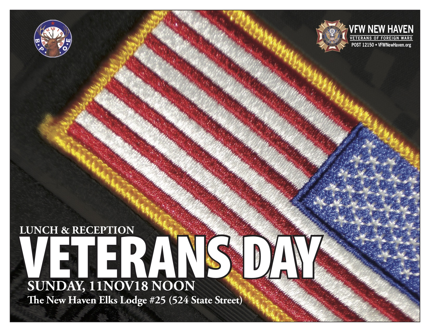 2018 Veterans Day Lunch & Reception