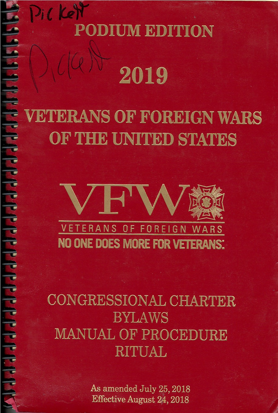 VFW Order of Business-Districts (2019)