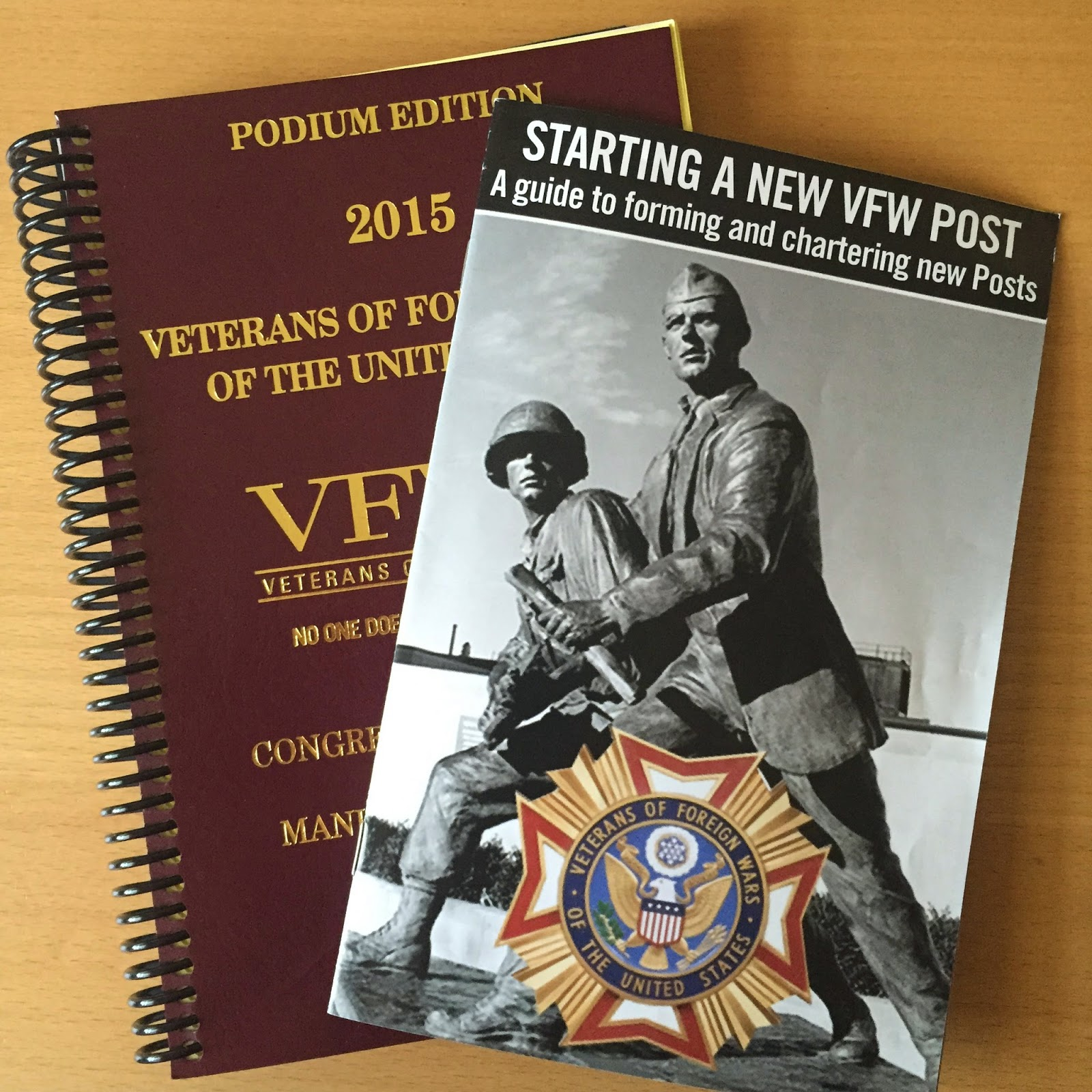 VFW Chartering Process–By the Book(s)