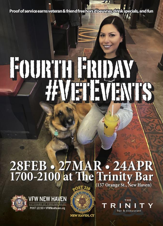 FourthFriday #VetEvents