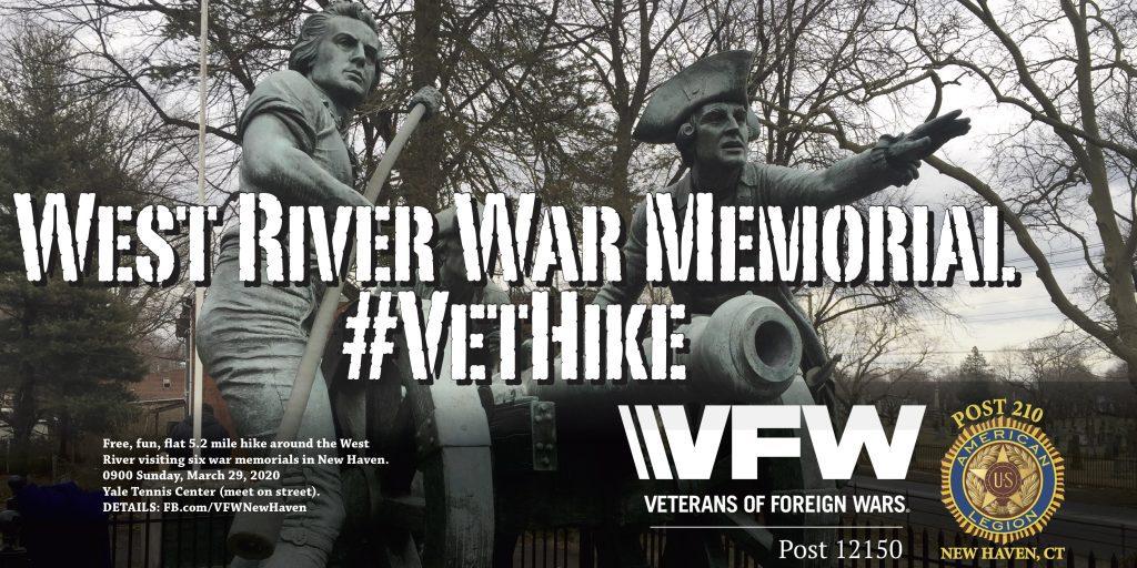 West River War Memorial #VetHike flyer