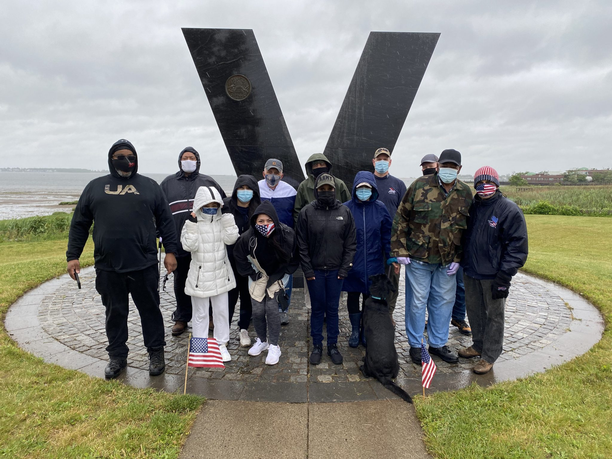 2021 Memorial Day: Clean-Up at the V