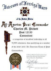 All-American Post Commander Award