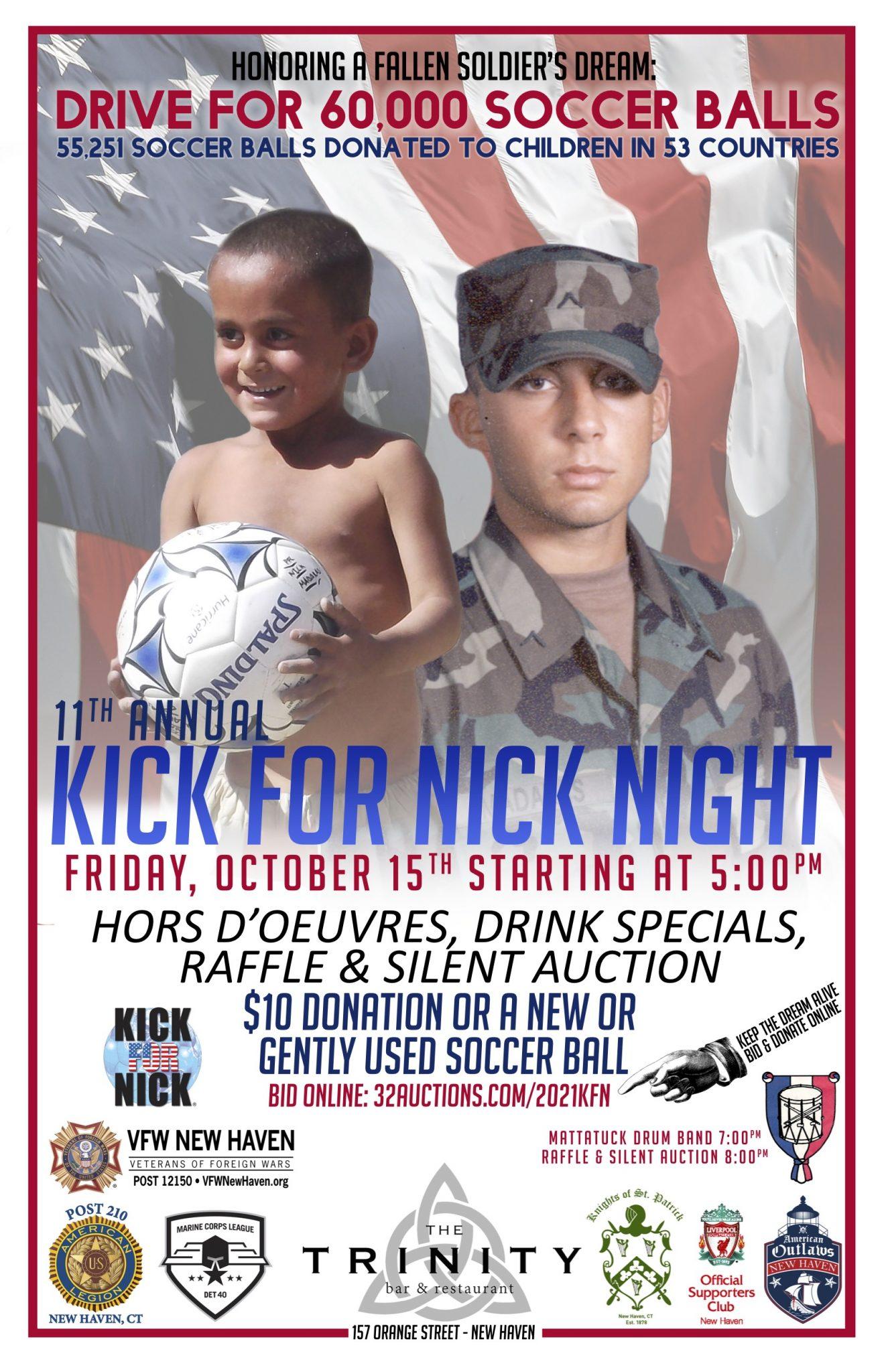 Kick for Nick Poster